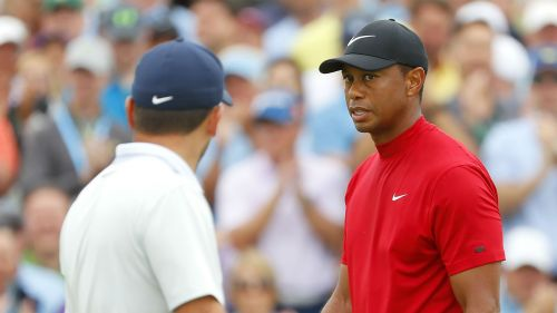 Francesco Molinari Tiger Woods - cropped