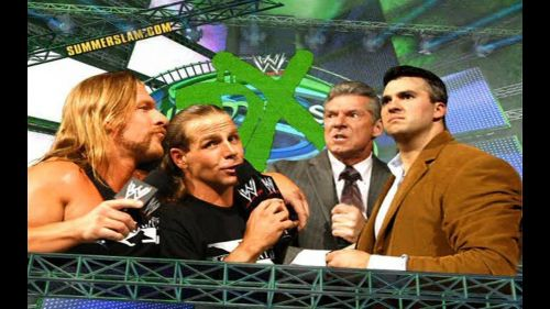 DX took on The McMahons at Summerslam 2006