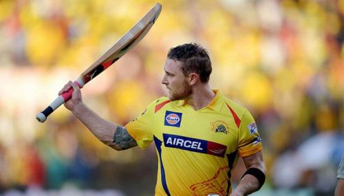 Brendon McCullum is the sole centurion in CSK vs SRH matches at MA Chidambaram Stadium