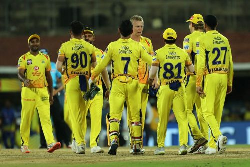 The CSK team members (picture courtesy: BCCI/iplt20.com)