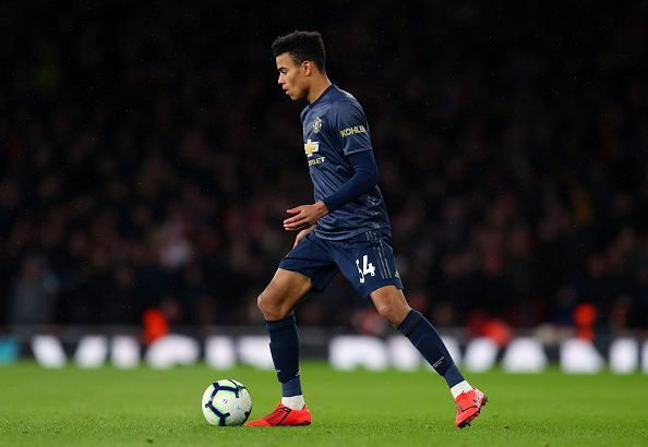 Greenwood made his first-team debut against PSG