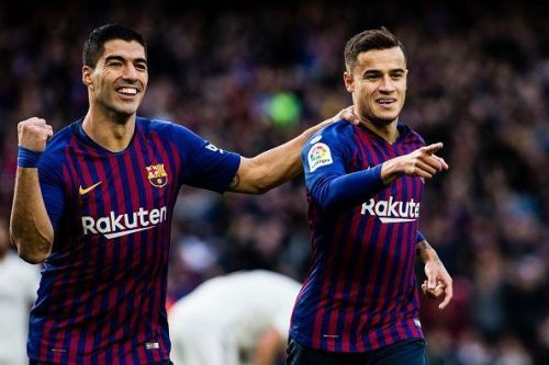 Coutinho and Suarez will be facing their former rivals, Manchester United.