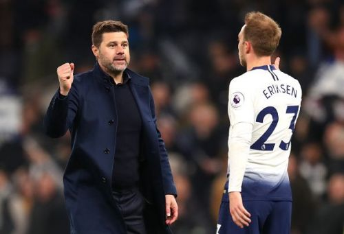 Mauricio Pochettino could lose out on players like Christian Eriksen if Spurs slip out of the Champions League