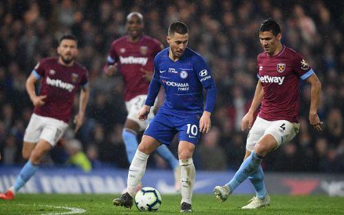 Hazard single-handedly destroyed West Ham United in their last Premier League match