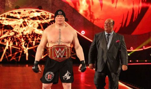 Can Brock Lesnar retain?