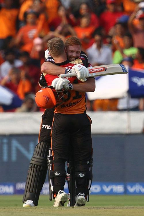 Bairstow and Warner's twin centuries decimated RCB (Picture courtesy- BCCI/iplt20.com)