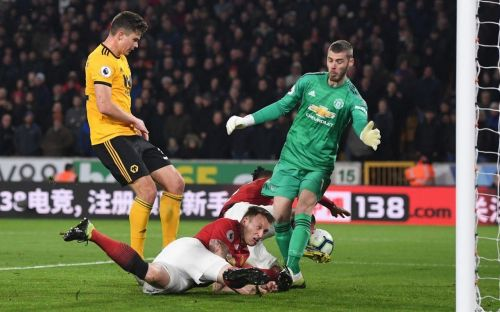Wolves dent the top four hopes of Manchester United