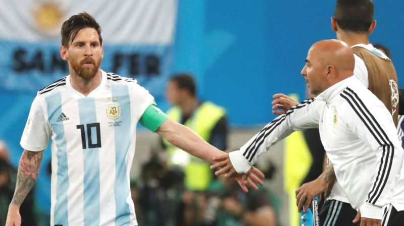 Messi and Sampaoli failed to inspire Argentina at the 2018 FIFA World Cup