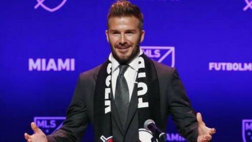 Beckham founded Inter Miami in January 2018