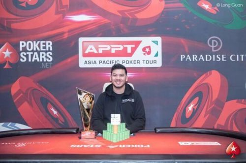 Malaysia's Michael Soyza defeated China's Jiang Chen in a heads-up round to win ₩178,890,000 ($157,423) in prize money along with the title