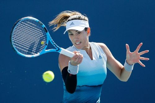 Garbine Muguruza continues to defend her title at the GNP Seguros Abierto in Monterrey