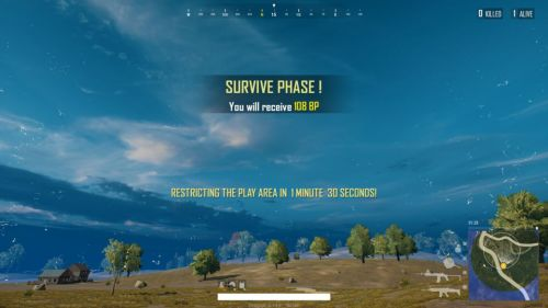 Now see how much BP you can get with the survival of each zone