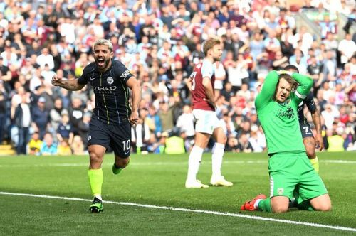 Aguero was the right man in the right place at Turf Moor