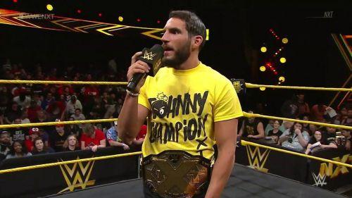 Johnny Gargano made his NXT return tonight