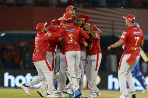 Kings XI Punjab: the joy of a comeback (picture courtesy: BCCI/iplt20.com)
