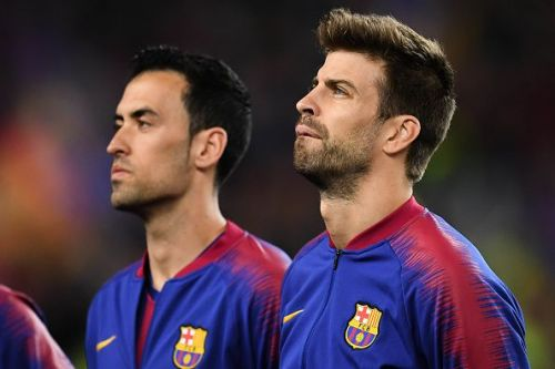 Busquets would be tasked with shielding the defense from Liverpool's counters