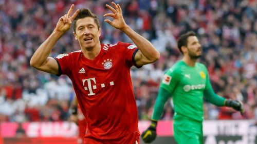 Lewandowski continued from where he left last time - with another brace