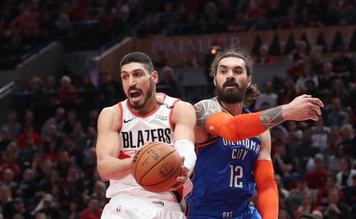 Enes Kanter is averaging more than 13 ppg & 8.5 rpg in Portland.