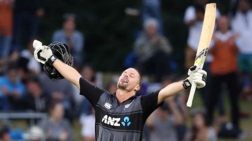 Colin Munro first to smash 3 T20 international centuries