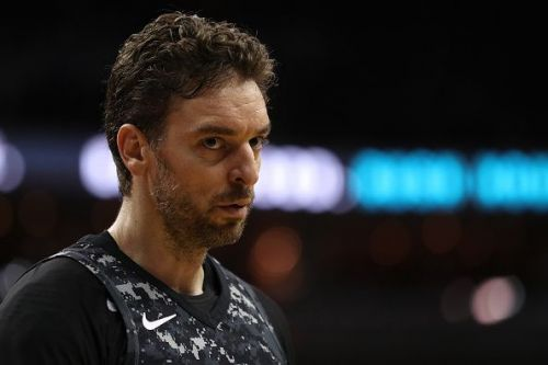Pau Gasol joined the Bucks after parting ways with the San Antonio Spurs