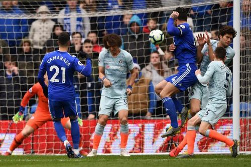 Camarasa's first time strike was a thing of beauty against Chelsea!