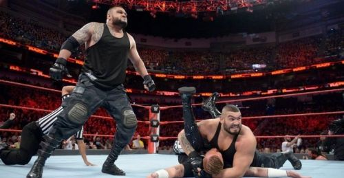 The Authors of Pain are as intimidating as a WWE Superstar could possibly be
