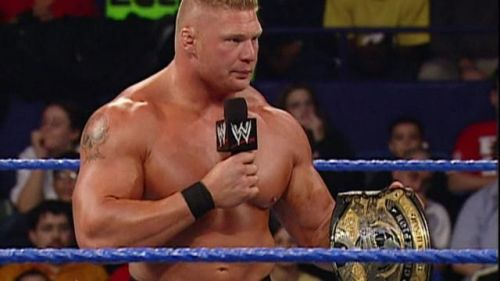 Brock Lesnar took Paul London out of the equation