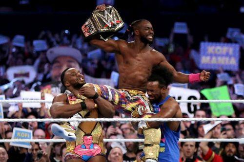 Kofi wins the title!