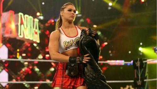 No more Randa Rousey in WWE?