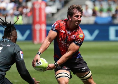 Kwagga Smith in action vs The Sharks: picture courtesy of SaRugbymag.co.za