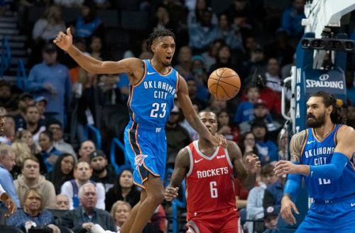 Terrance Ferguson has emerged during Roberson's absence