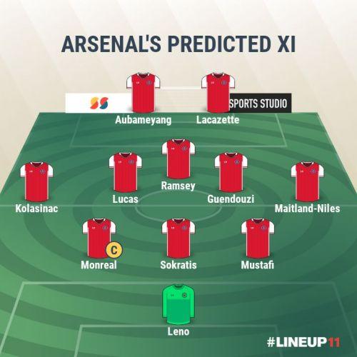 Arsenal FC- Predicted XI