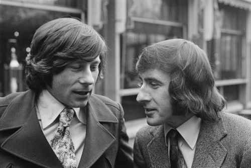 Roman Polanski (left) And Sir Jackie Stewart teamed up to make a fascinating film in 1972.
