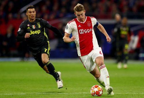 Ajax starlet Matthijs de Ligt