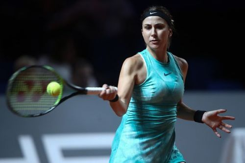 Belinda Bencic was in fine form to get back on track with a win at the Porsche Tennis Grand Prix in Stuttgart
