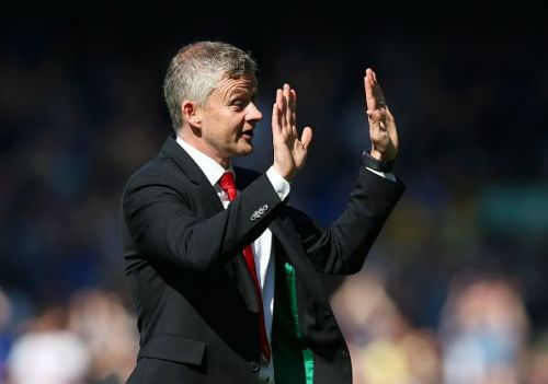 Ole Gunnar Solskjaer takes a 4-0 loss from Everton FC.