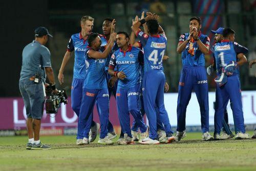 The Delhi Capitals team (picture courtesy: BCCI/iplt20.com)