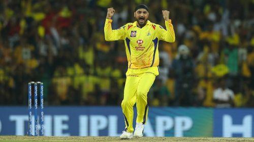 चेन्नई सुपर किंग्स के हरभजन सिंह