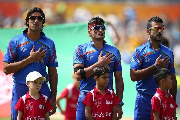Australia v Afghanistan - 2015 ICC Cricket World Cup