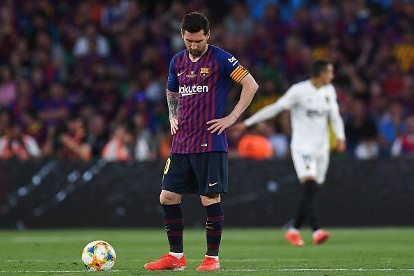 Messi failed to inspire Barcelona to victory