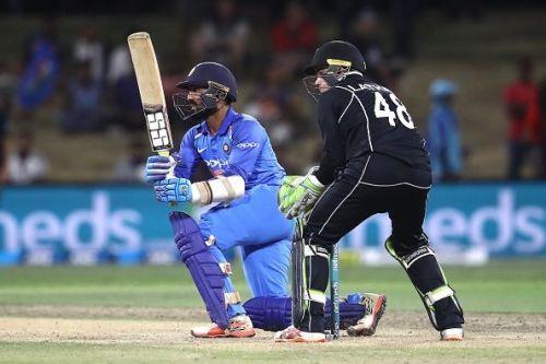 New Zealand v India - Dinesh Karthik