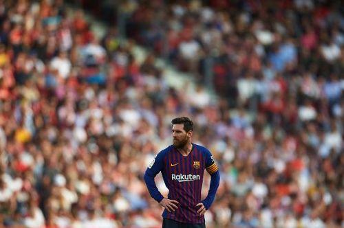 Lionel Messi - Barca captain