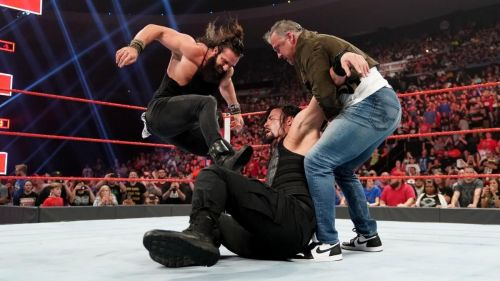 Was this the unfinished business Roman was talking about?