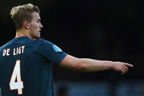 Ajax captain - Matthijs De Ligt
