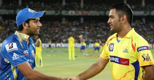 Mumbai Indians have won 15 and lost 11 matches against Chennai Super Kings.