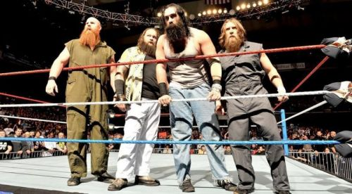 Daniel Bryan was once part of the Wyatt Family.