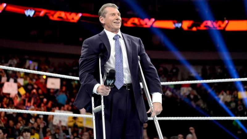 If Vince McMAhon lets go of control, he probably won