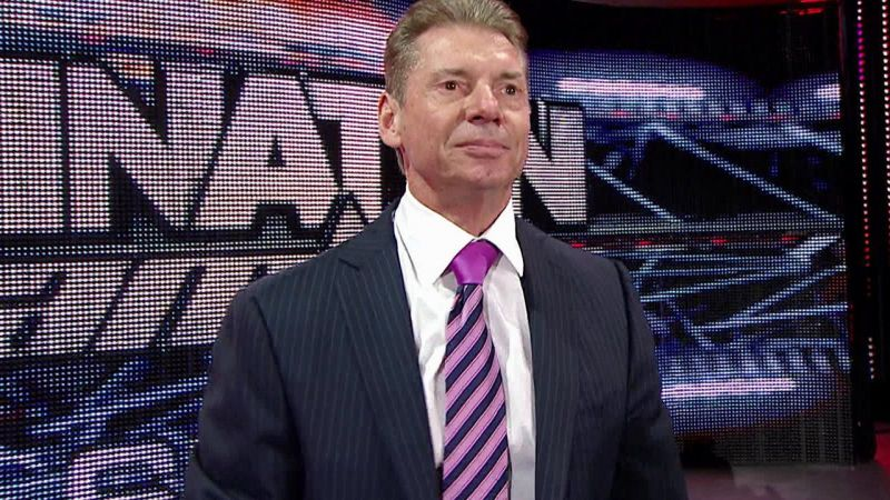Vince McMahon loves to be in control.