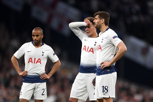 Tottenham were beaten at home by Ajax in a disappointing performance tonight