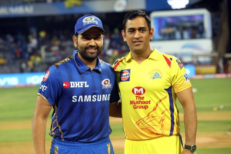 Rohit and Dhoni - Two best Captains of the tournament (Image Courtesy: IPL T20.Com/BCCI)